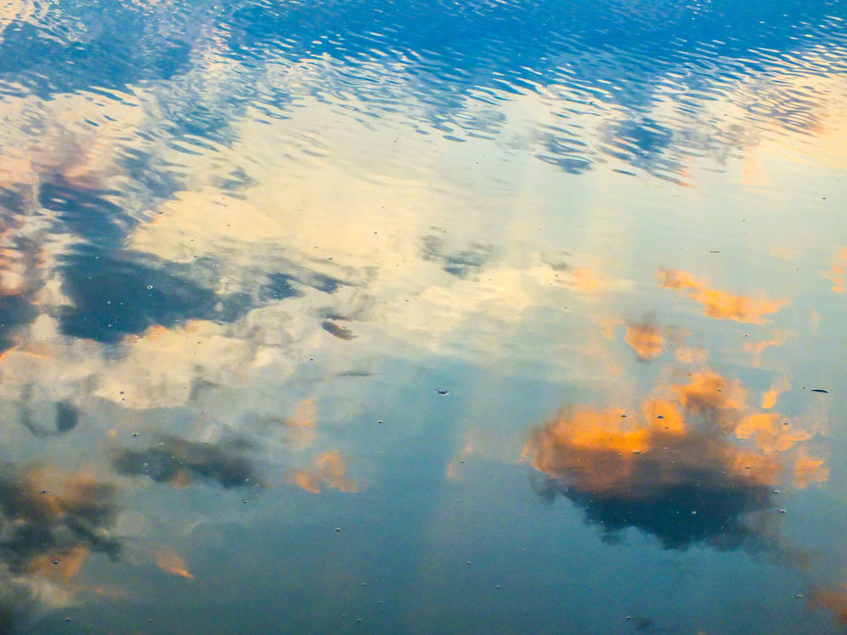 Water Reflection Full Frame Blue Outdoors Nature Close-up Sky Thosecolors Sunrise Fujifilmphotography Fujifilmhs35exr Fujifilm EyeEmNewHere EyeEm Best Shots EyeEm Vision EyeEm Gallery Beauty In Nature Lake Beauty In Nature