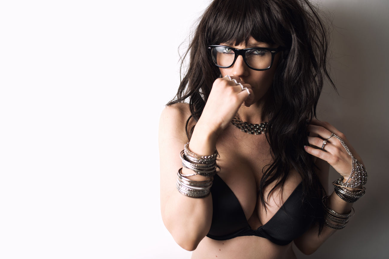 Happy New Year!!! Lingerie Nerd Jewelry Acsessories Bangs 2016 Photoshoot Cheese! Hi! Check This Out Eyes Feeling Good Dark Hair Glasses Posing Wigs Bra Victoria's Secret Victoriassecret Fashion&love&beauty photo by