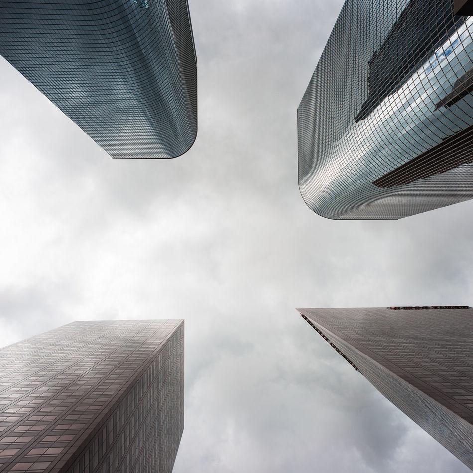 Downtown LA Giants DowntownLA La Imthe1will Clouds Buildings Nikon Nikonphotography