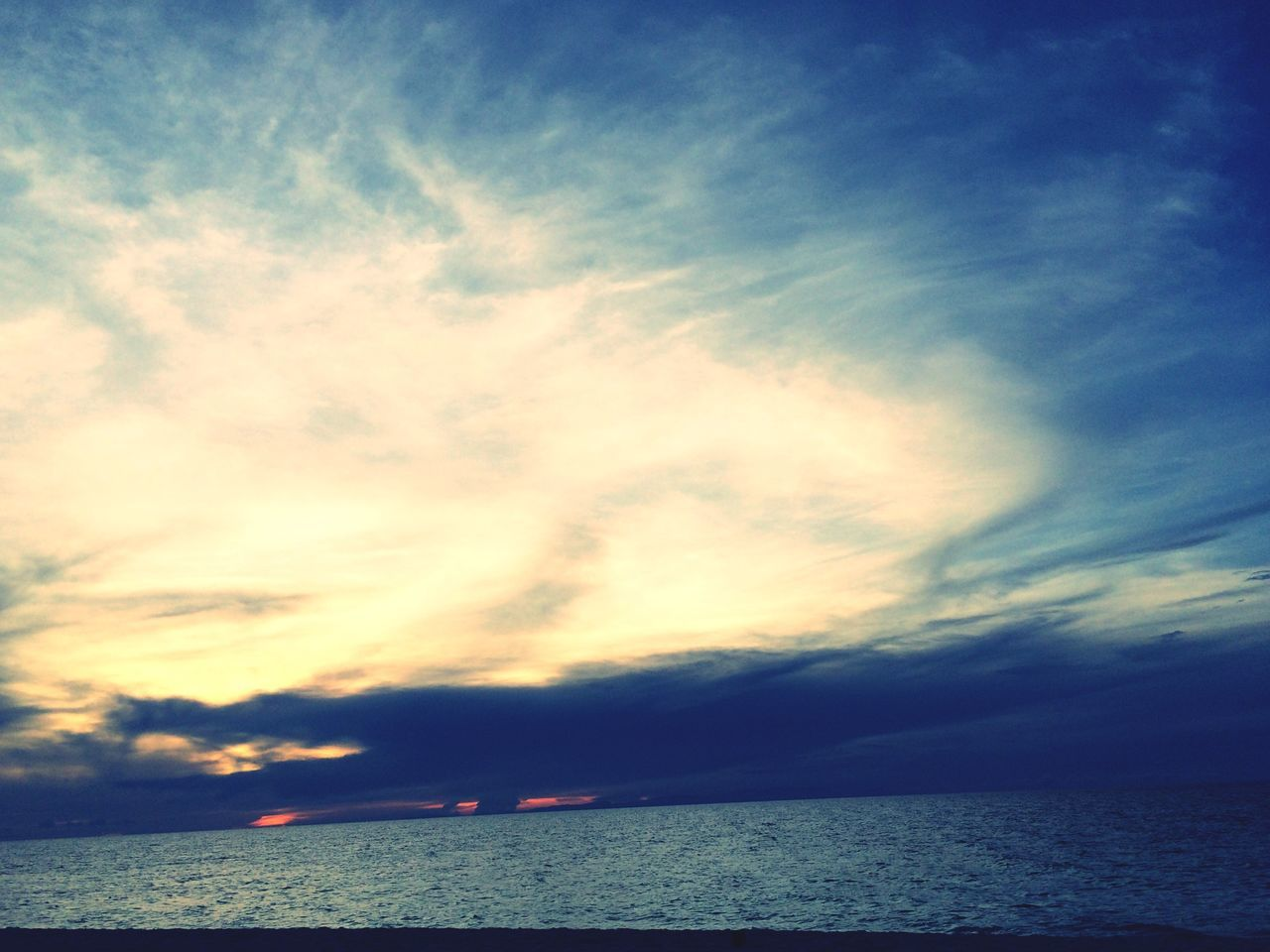 The afternoon sky. Clouds Beach Beachlife Island Islandlife Boracay