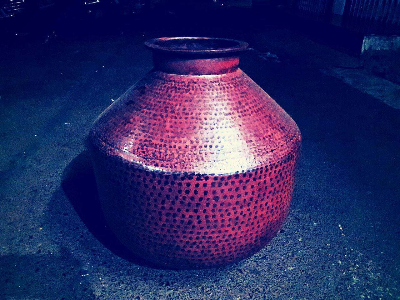 KonkaniGoan Traditional Copper  Water Pot Handmade