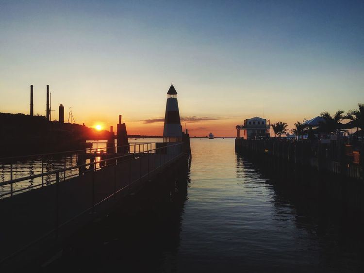 Port Jefferson Check This Out Water Sunset Sky LongIslandNY Ocean View