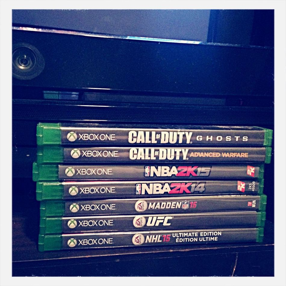 Game on XboxOne Call Of Duty Good Times Hello World