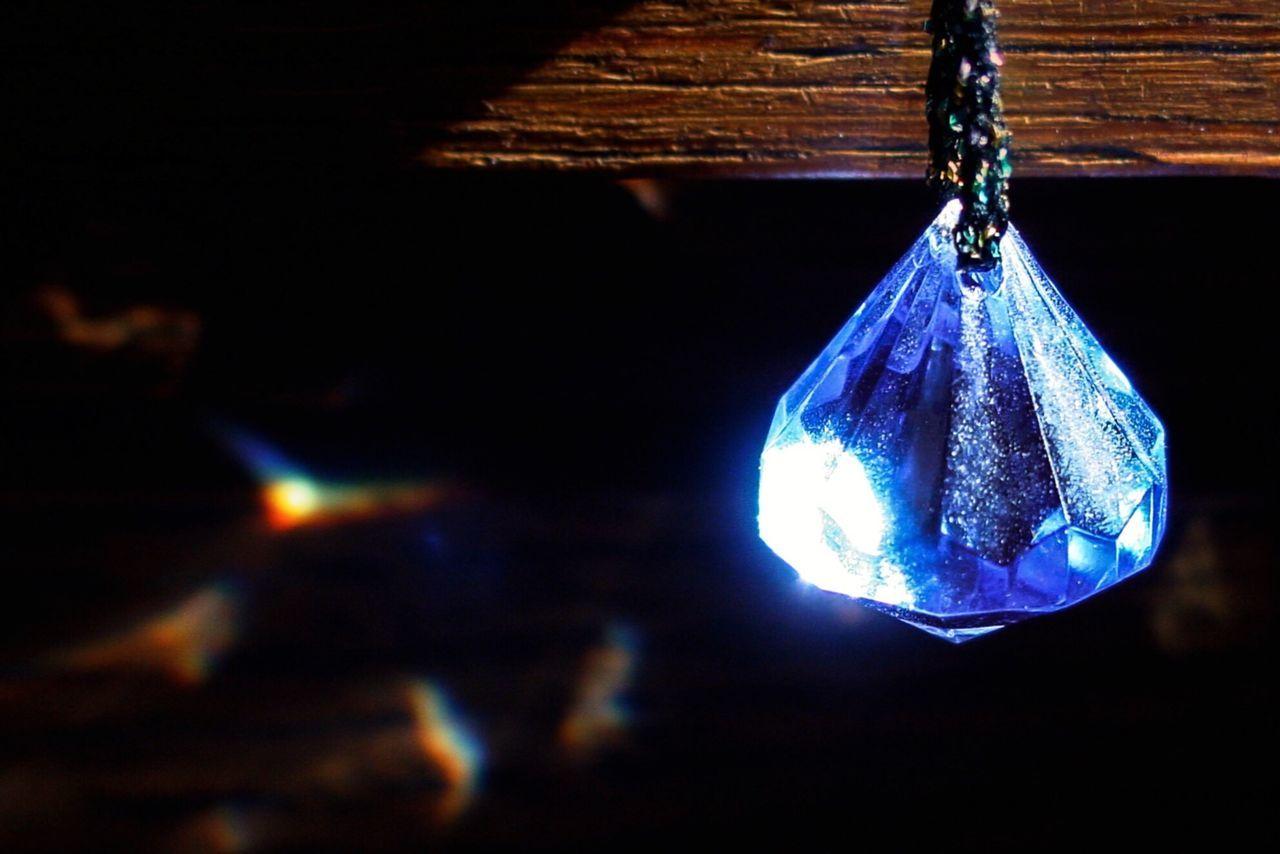 Beautiful stock photos of diamond, Blue, Gemstone, Hanging, Indoors
