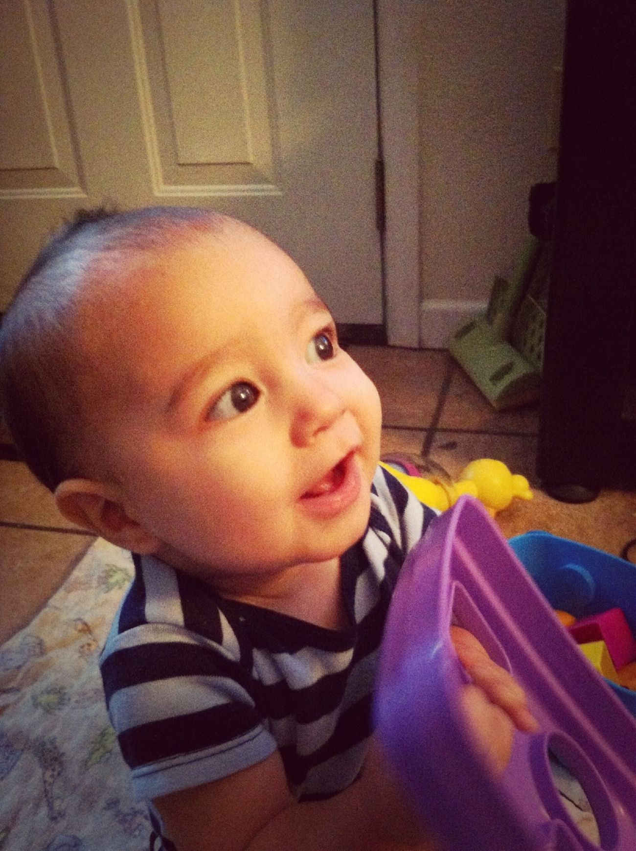 Liam Tyler is 8 months old today!