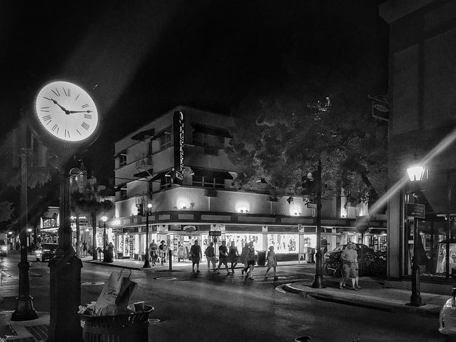 Key West At Night Outside Photography Outdoor Photography Black And White Blackandwhite Cool Check This Out Interesting Getting Inspired Amazing View Trip The Architect Cool Edit Cities At Night