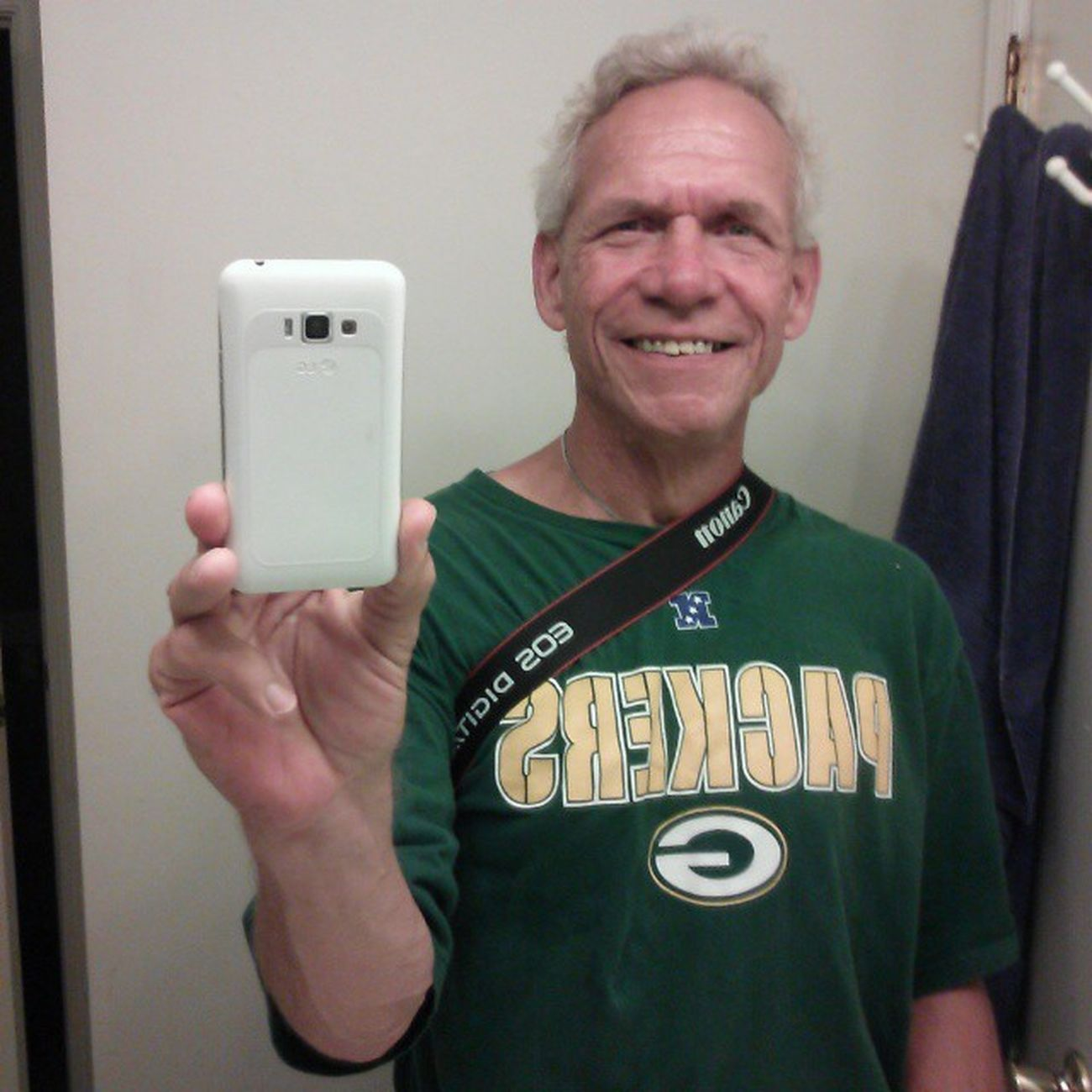 2nd half is our half... Greenbay Packers