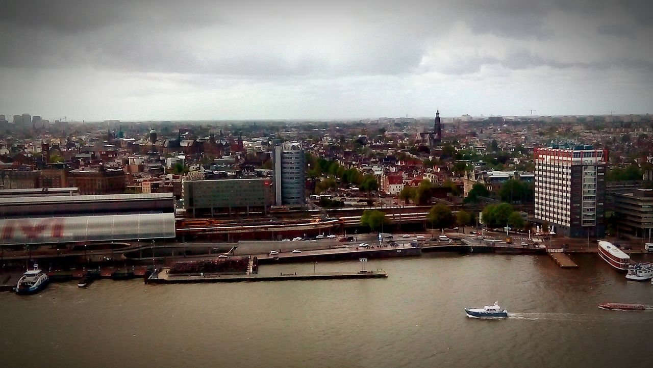 Netherlands A'dam Toren Amsterdam Urban Skyline Travel Destinations Sky Cloud - Sky Cityscape The Architect - 2016 EyeEm Awards