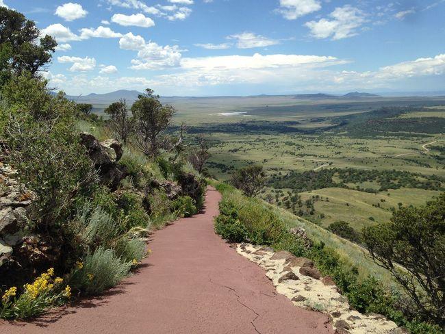 New Mexico Capulin Volcano Volcano Walking Path