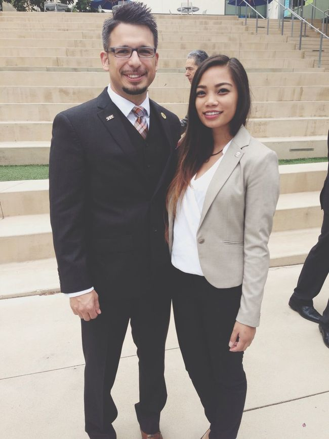 My mentor, and current SHPE National President :) Nila Blessed  SHPE Smile