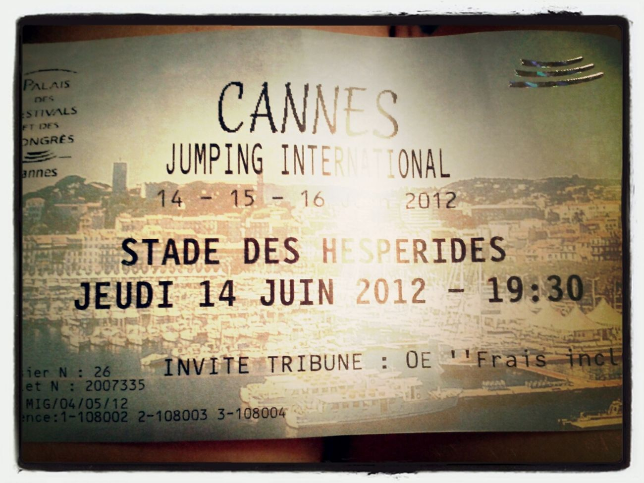Jumping Ticket