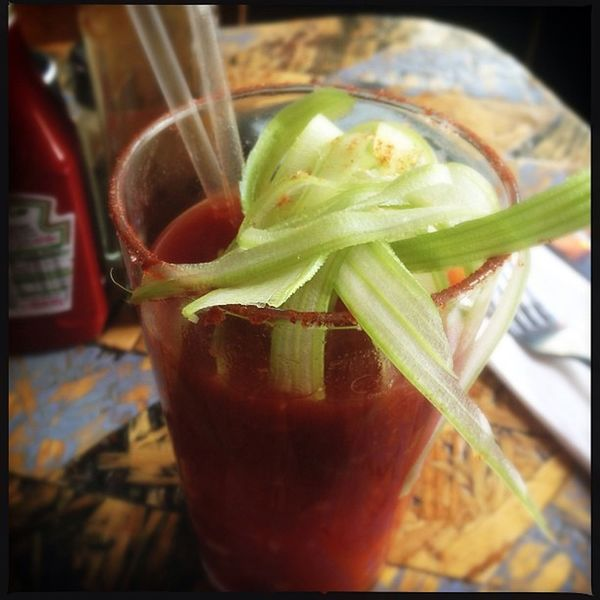 A medicinal Bloody Mary