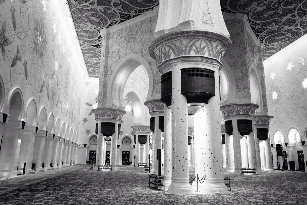 Interior Of Mosque