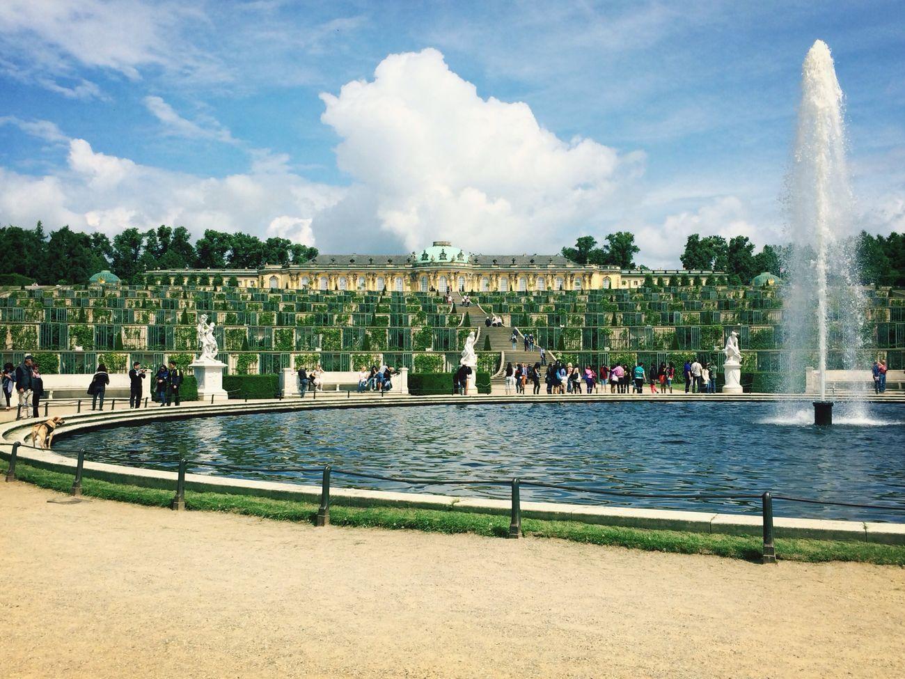 Potsdam Sans Souci Castle Nice Day Summer
