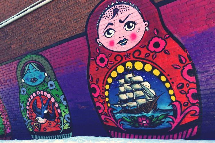 Streetphotography Graffiti Art Wall