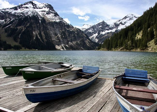 boats at vilsalpsee, tirol Amazing View Austria Beauty In Nature Boat Colors Holiday Lake Landscape Life Light Mountain Mountain Range Nature Nature Nautical Vessel Outdoors Scenics Sky Snowcapped Mountain Spring Tannheimer Tal Tirol  Travel Vilsalpsee Water The Great Outdoors - 2017 EyeEm Awards Let's Go. Together.