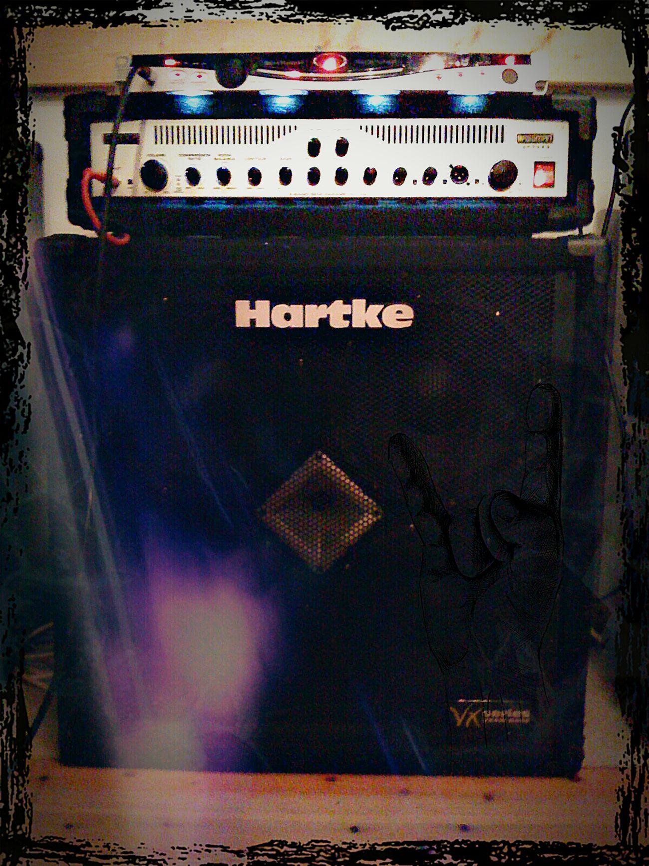 My New Toy. Bassist Amp Hartke Fender Amp ROCK ON! Live Music Flensburg ;)
