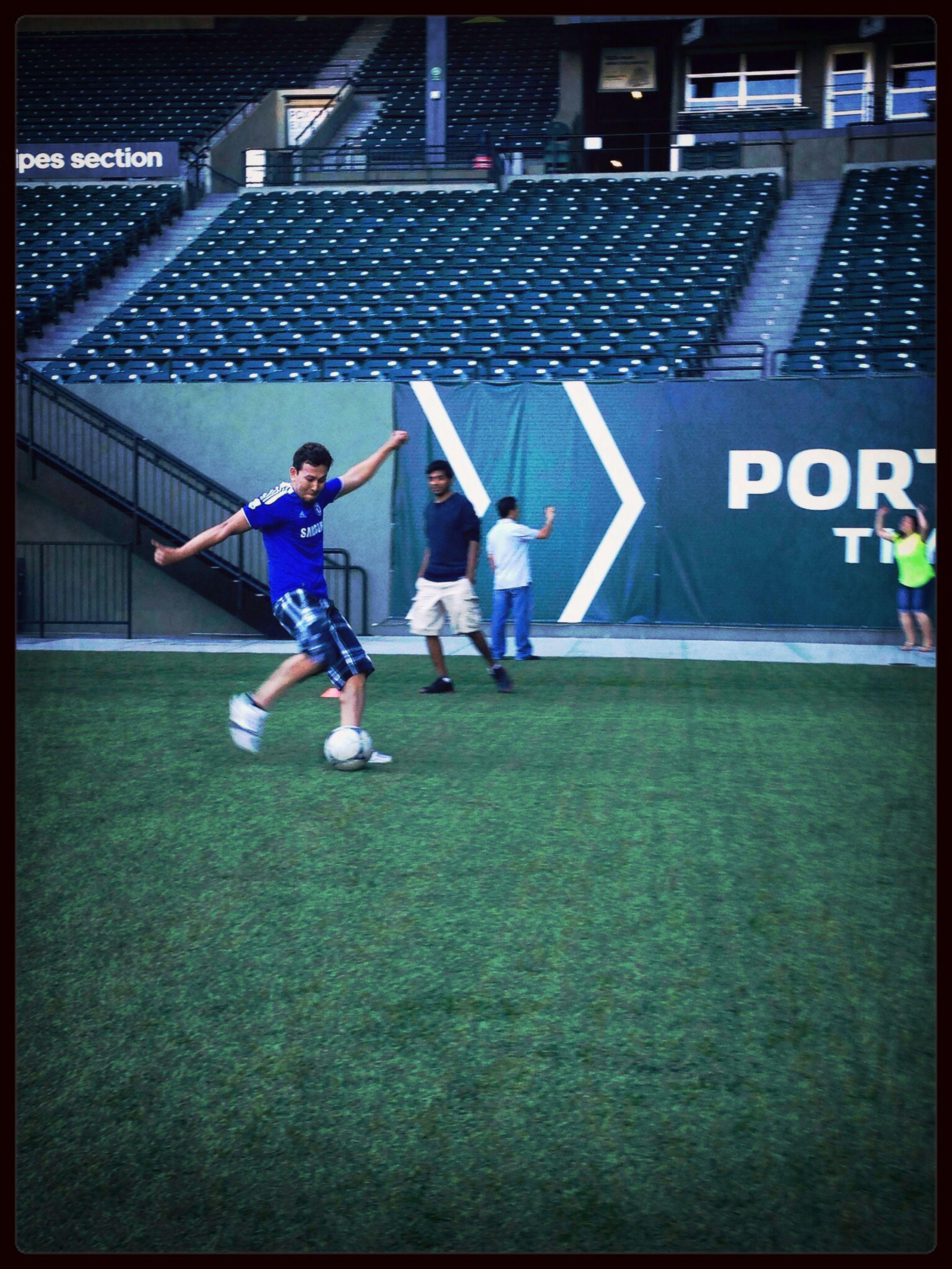 Kicking Some Ball @jeld-wen Field  Goal Portlandtimbers