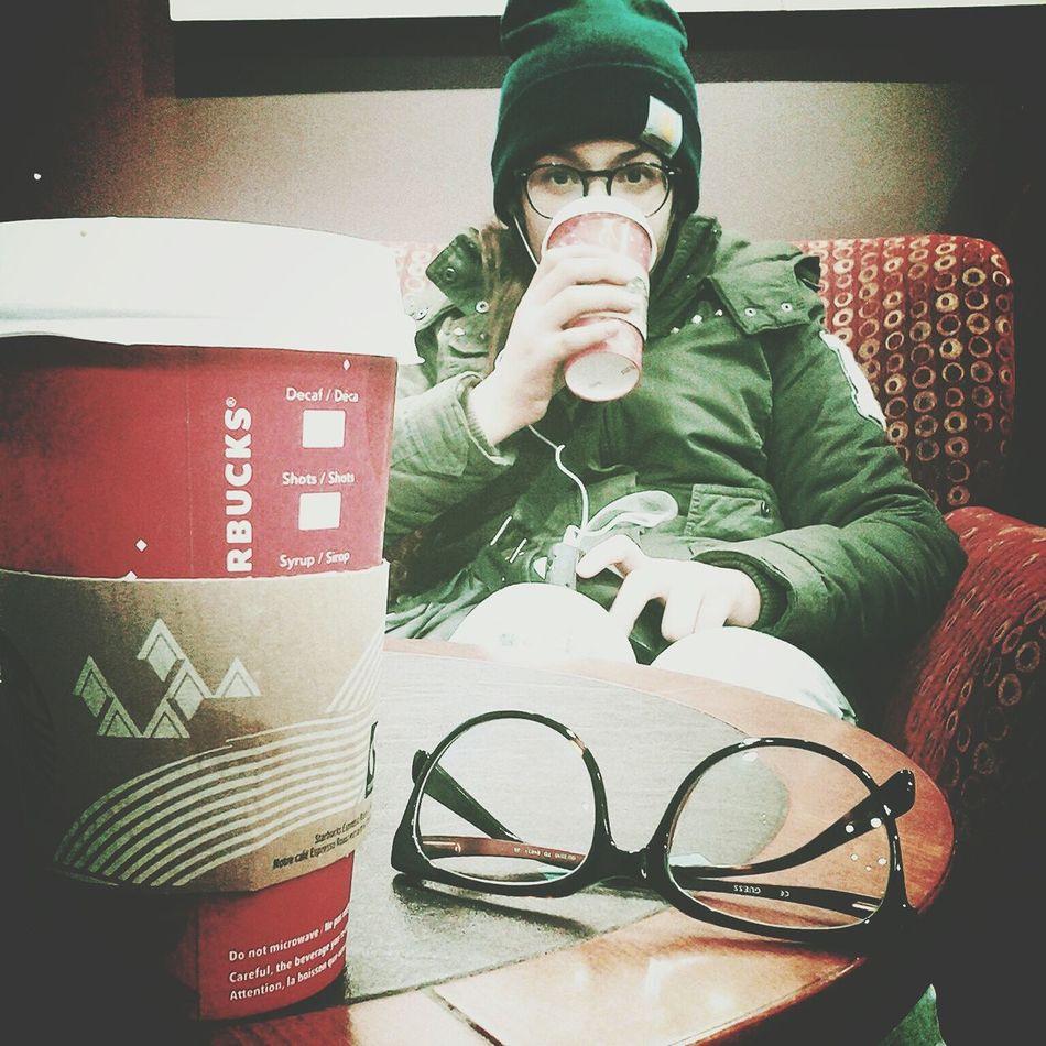 Sister Starbucks Drinking Starbucks