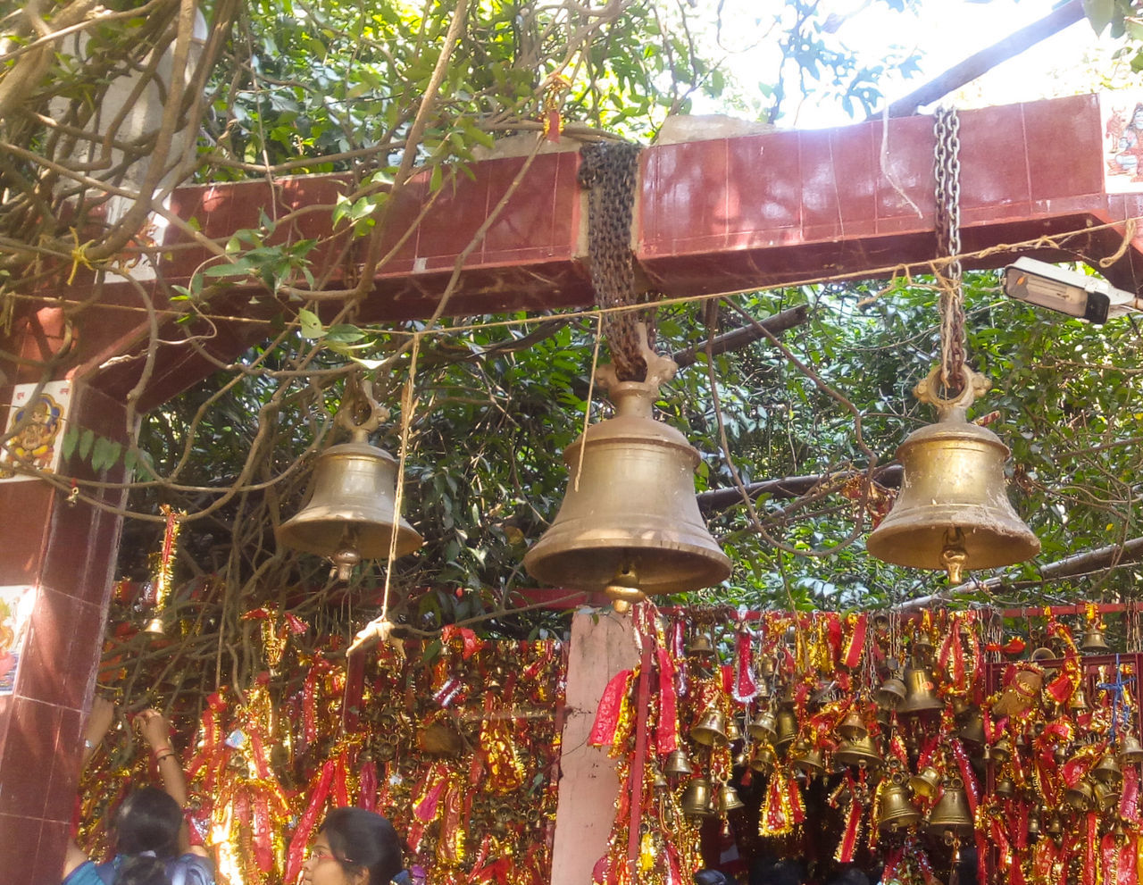 Ghanteshwari Temple- A temple in western Odisha.People offer bells to goddess Ghanteswari or the Deity of Bells, after fulfillment of their wishes. Faith&devotion Devotees Bells Temple Temple Bells Odisha Ghanteswari 43 Golden Moments