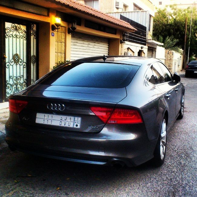 The Handsome Machine ! Audi A7 111 .