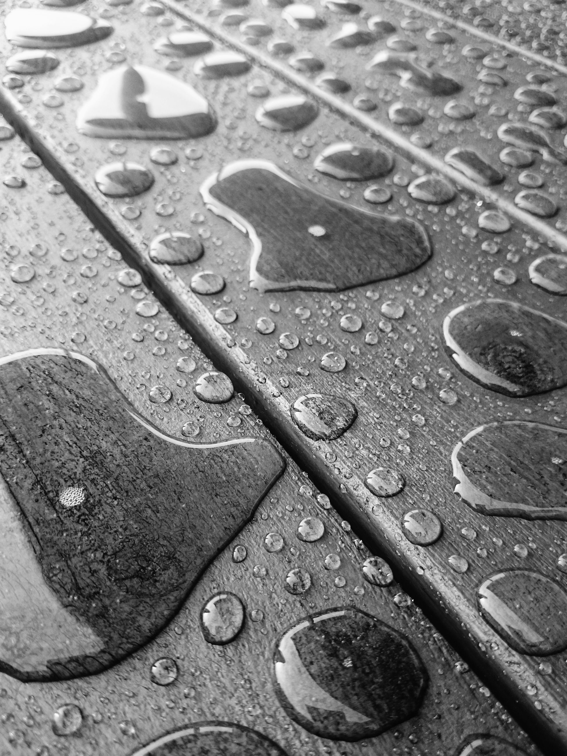 metal, full frame, backgrounds, high angle view, metallic, wet, close-up, water, pattern, street, no people, day, outdoors, textured, drop, transportation, detail, old, part of, rusty