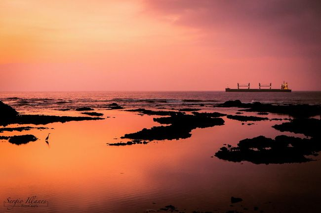Antofagasta Chile Clouds And Sky Sunset Colours Beach Colores Sea Ocean