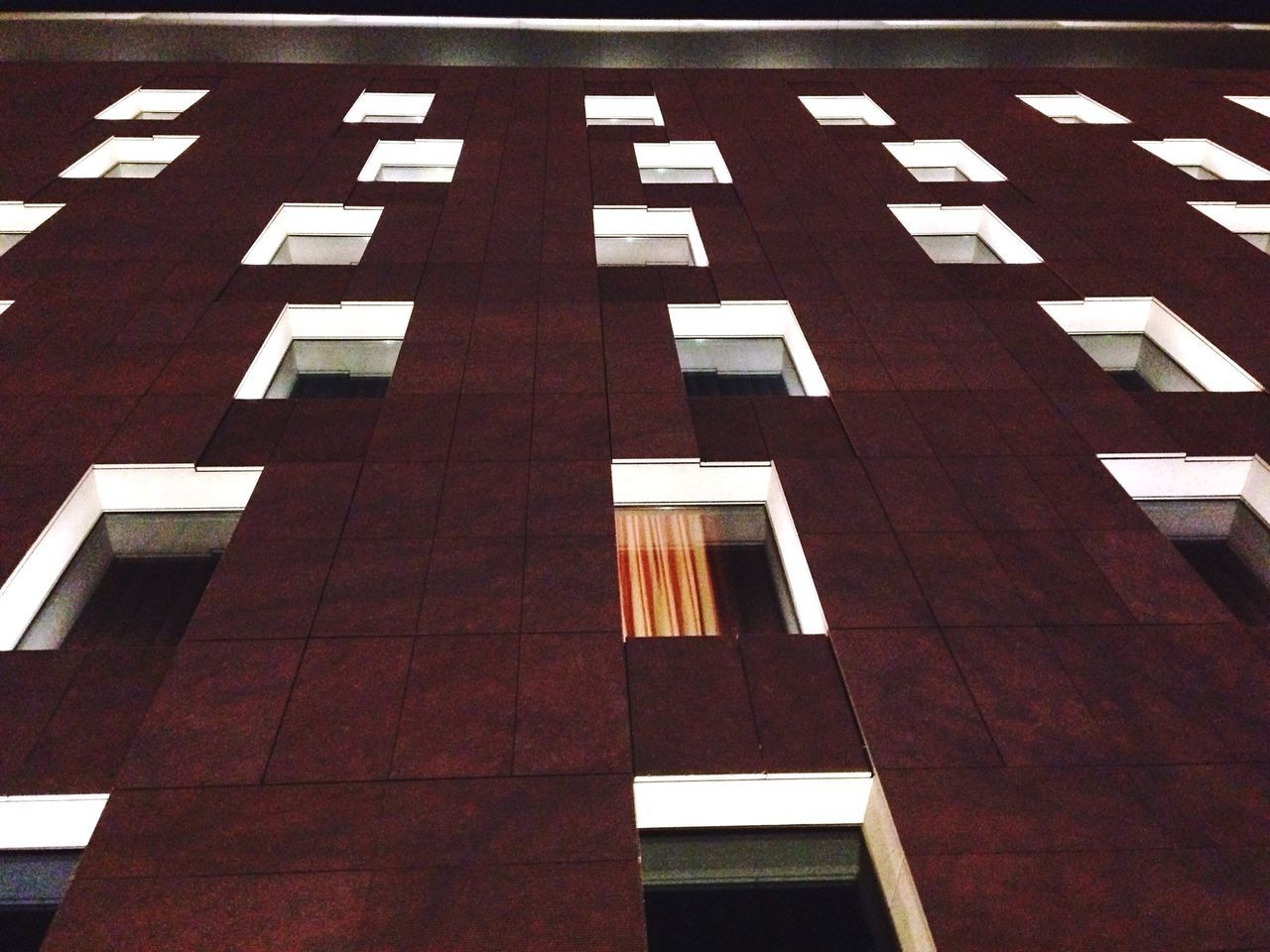 Learn & Shoot: After Dark Night Night Lights Nightphotography Hotel Hotels Window Windows Symmetry Geometry Geometric Shapes Urban Geometry Building Exterior The Architect - 2016 EyeEm Awards
