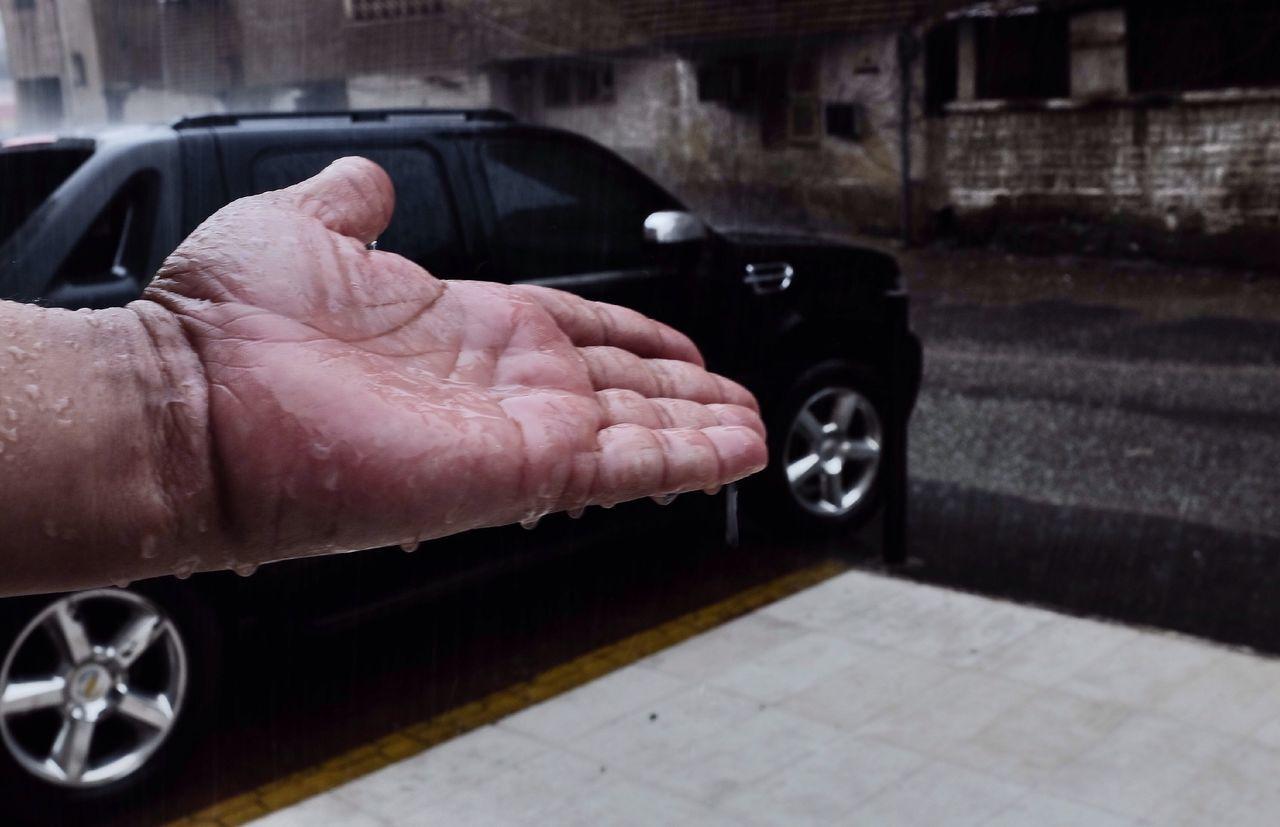 Hands, Hand feel Rain rainyday