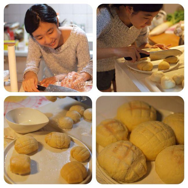 Handmade Bread My Daughter メロンパン