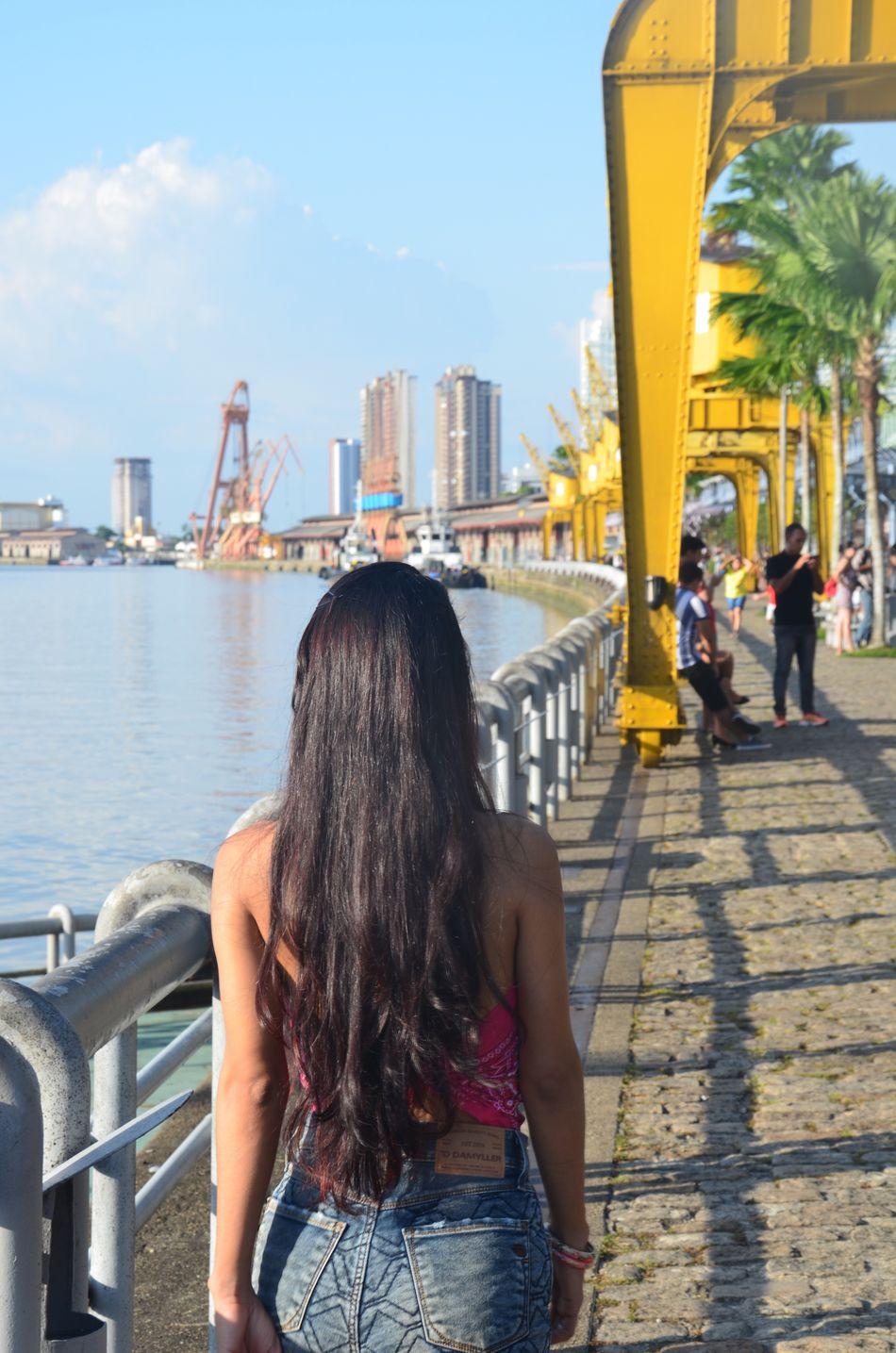 City Architecture Real People Lifestyles Amazonia Brazil