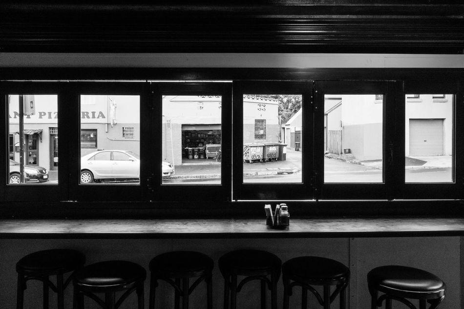 Indoors  Window No People Day Shadows & Lights Monochrome Pub