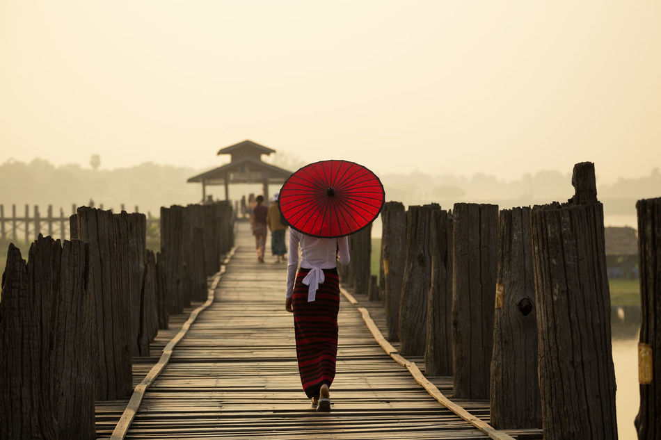 Beautiful stock photos of wetter,  Asian And Indian Ethnicities,  Boardwalk,  Bridge - Man Made Structure,  Casual Clothing
