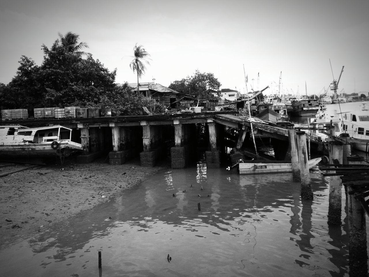 Water Nautical Vessel Harbour Pangkal Balam