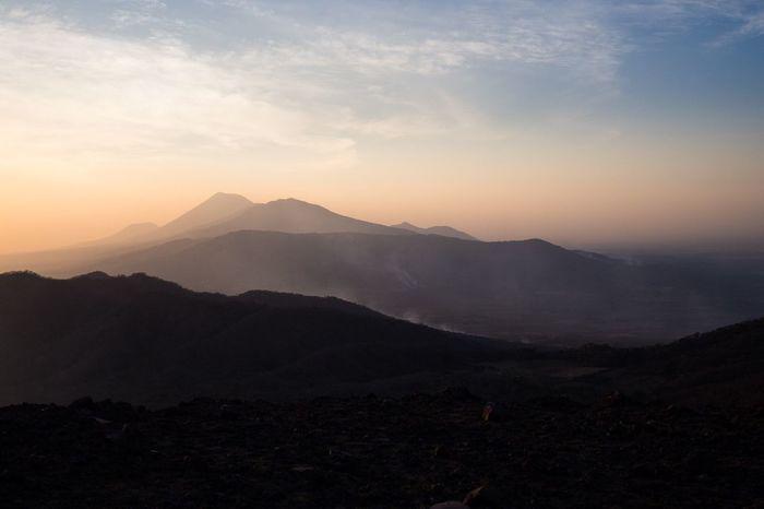 volcanic sunset Nicaragua Tierra De Lagos Y Volcanes