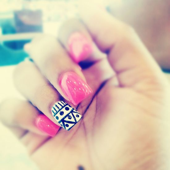 got my nails done (: