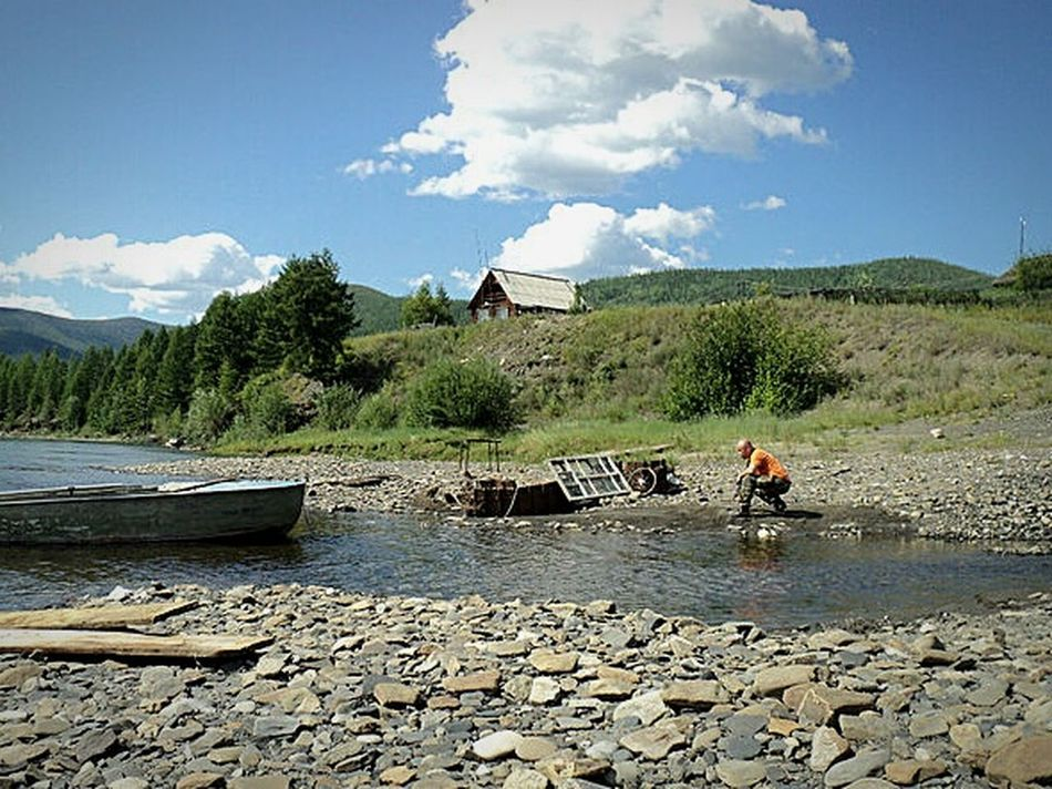 The Adventure Handbook Check This Out Yakutia Ynykchan On The River Taking Photo Photographer Nature Composition Summer Enjoying Life