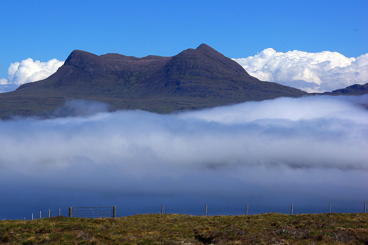 Low Cloud over Little Loch Broom Beauty In Nature Blue Cloud - Sky Day Dramatic Sky Dundonnell Environment Landscape Little Loch Broom Loch Broom Low Cloud Low Cloud, Clear Day Meteorology Mountain Nature No People Outdoors Sea Mist Sky Tree Weather Phenomenon Wester Ross