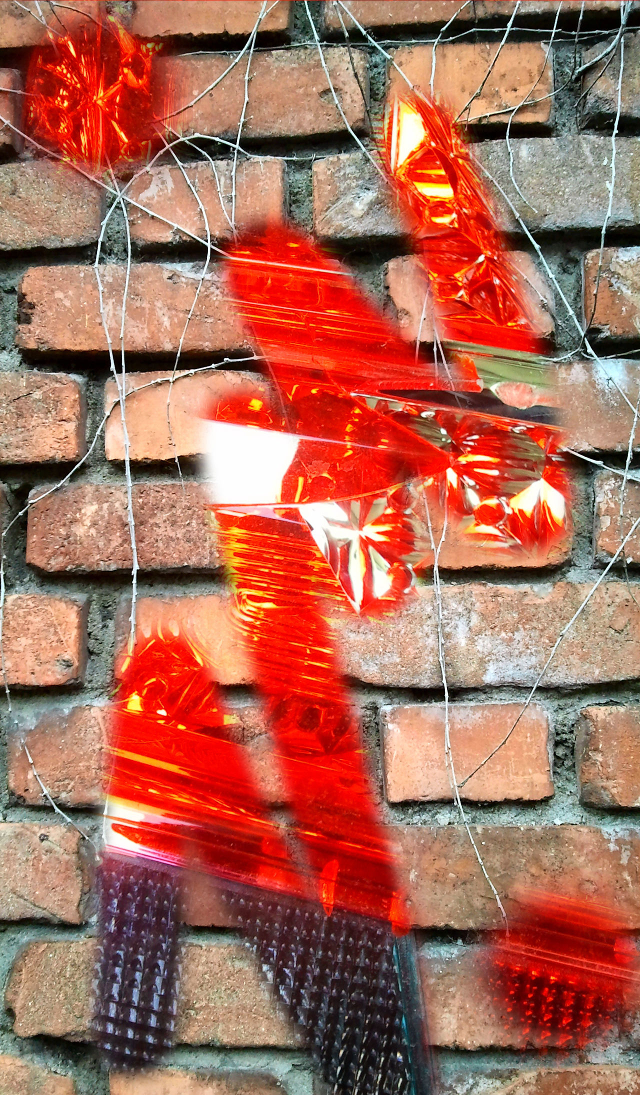 Art, Drawing, Creativity Artistic Expression ArtWork Artwork By Me Brick Wall Close-up Day Fantasy Dreaming No People Outdoors Patriotism Red