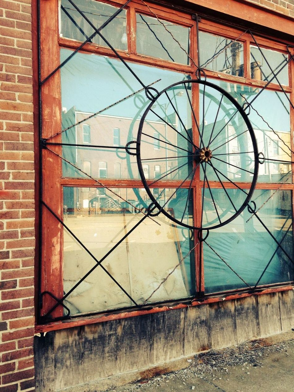 Interesting Window Building Exterior Window Marion Town Square Outdoors Small Town Southern Illinois  Architecture First Eyeem Photo