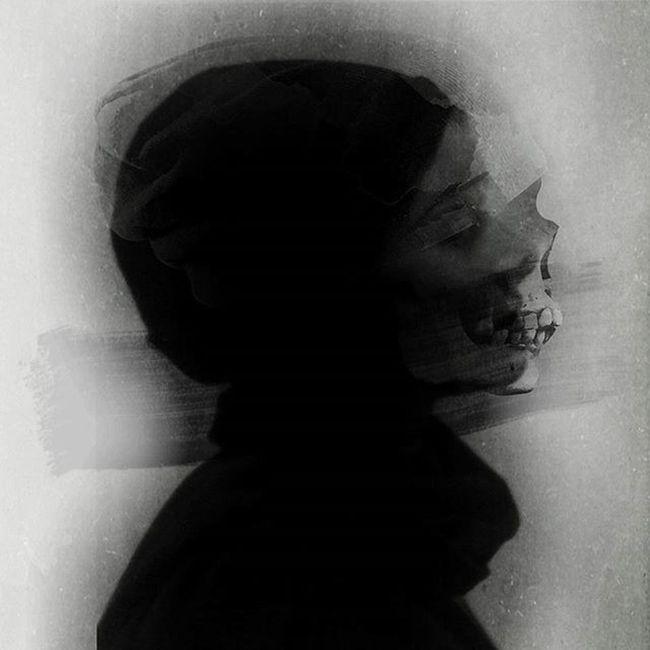 Digitalart  Skull Darkart Photomanipulation