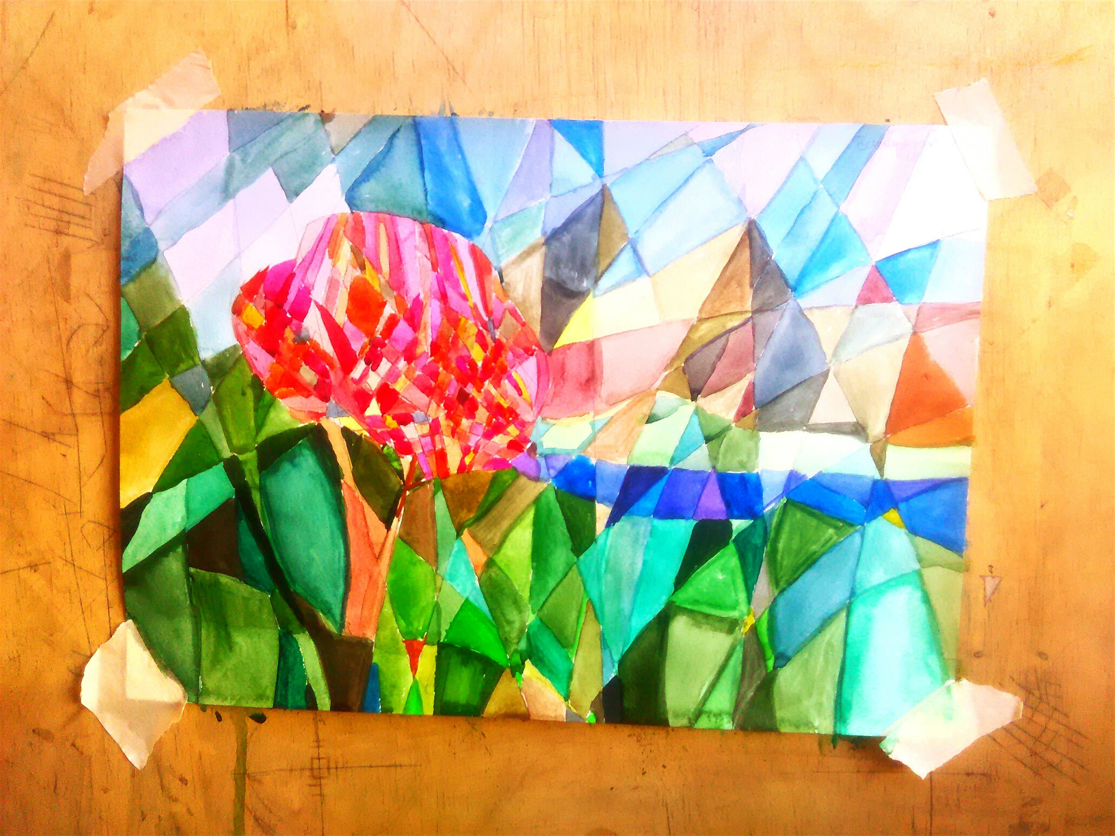 multi colored, indoors, variation, still life, wall - building feature, colorful, blue, arrangement, no people, art and craft, creativity, table, large group of objects, close-up, high angle view, fabric, paper, wall, choice, flower