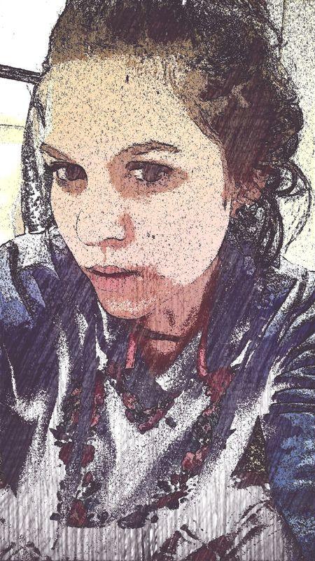 me is oil paint :) Album Artwork Oilpastel That's Me Art Yourself
