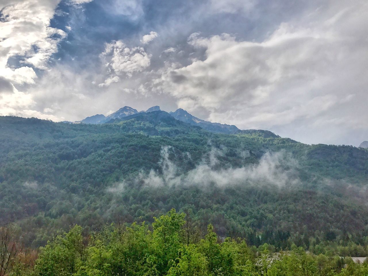 Mountain Foggy Morning Mountainview Albania Nature Beauty In Nature Sky No People Scenics Mountain Range Landscape Tranquility Day Outdoors Tree