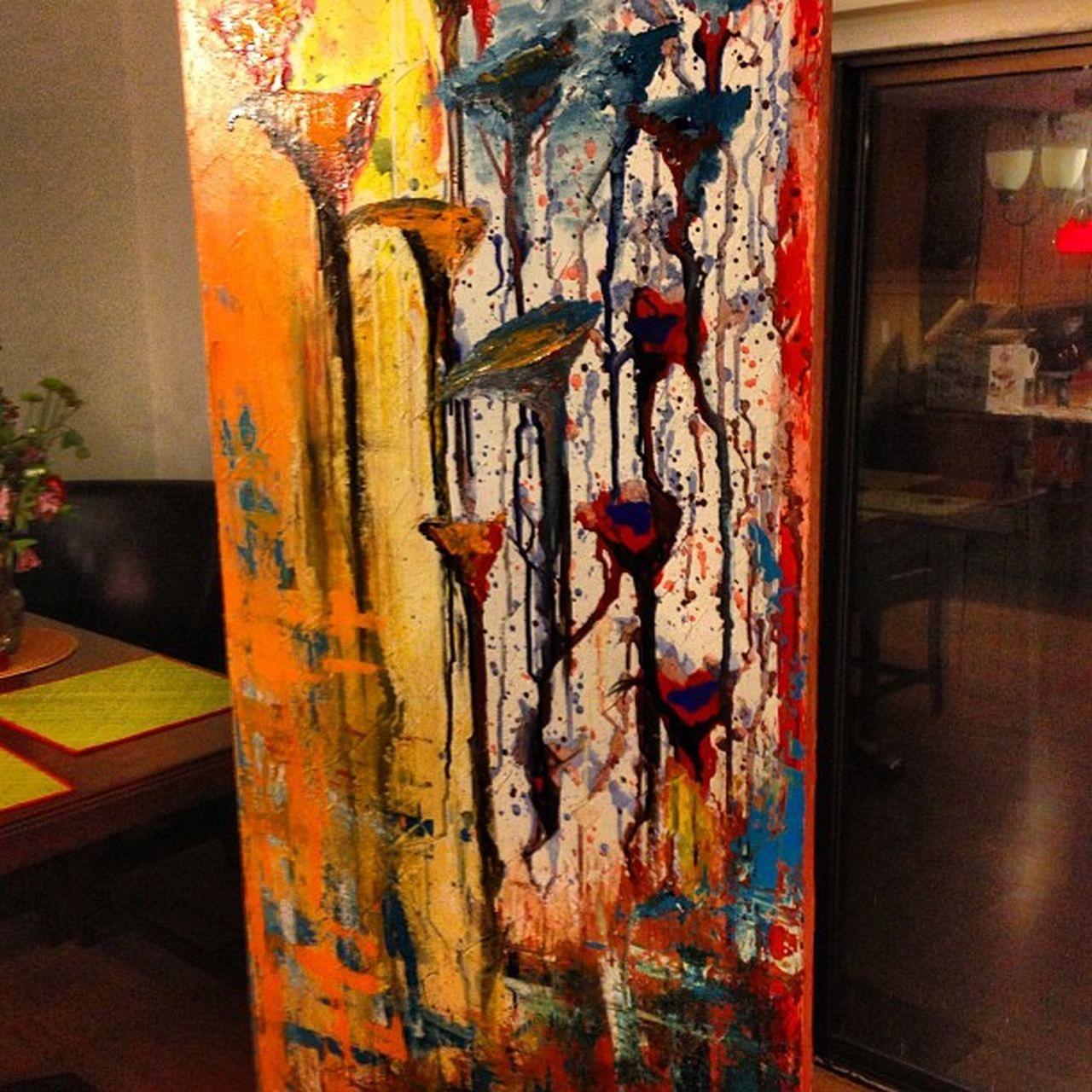 Mañana 4/23/13 se terminará esta pintura número 2 .. En Acrílico 24x48 Tomorrow 4/23/13 will finish this painting number 2... Acrylic 24 x 48 Painting Vintage Acrylic Painting