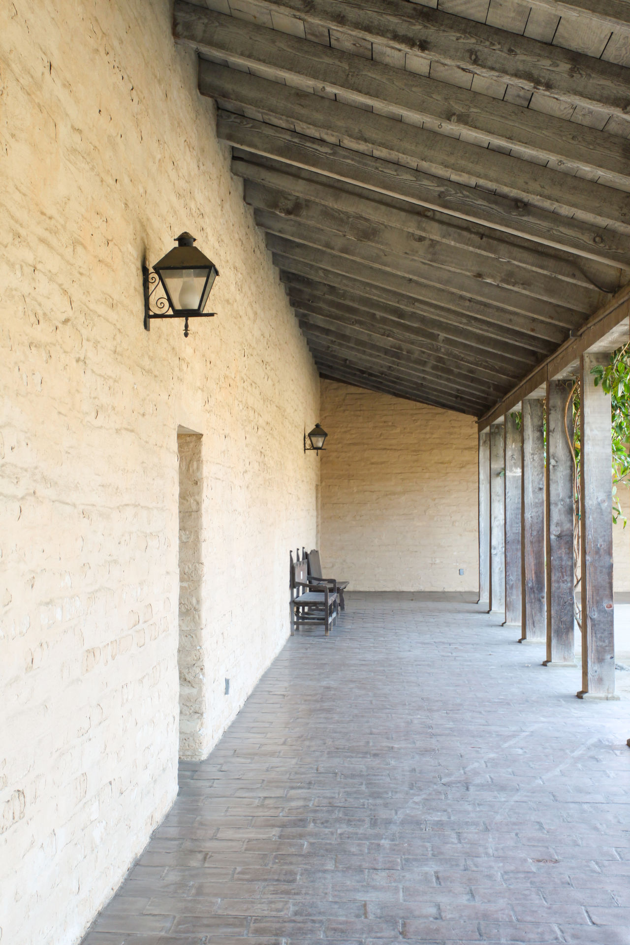 Old Outside Corridor Old outside corridor at a historical building in Santa Barbara. Aged Ancient Arcade Architectural Architecture Building Corridor Empty Entrance Exterior Historical Landmark Nobody Old Outdoor Outdoors Outside Passage Pavement Santa Barbara Sidewalk Stone Tourism Wall Walls