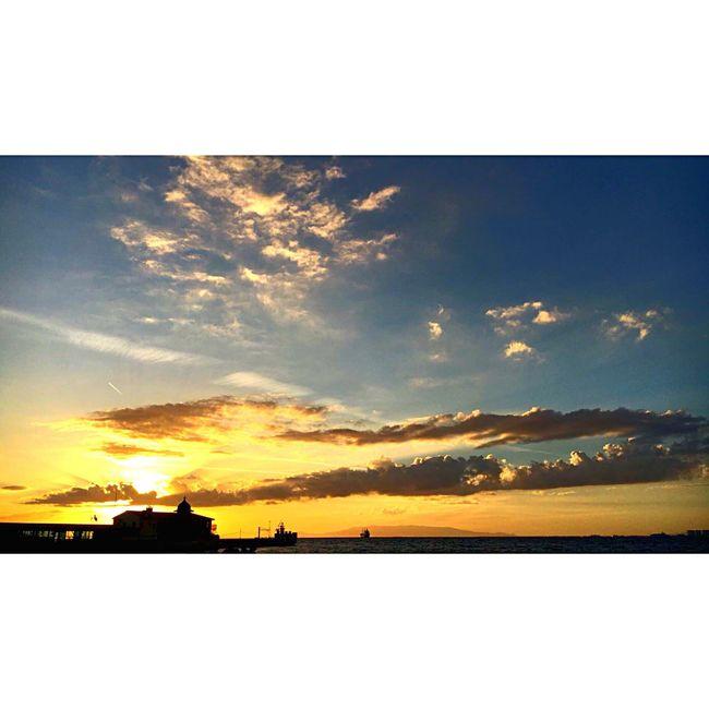 Turkey Izmir Alsancak Kordon Traveling Love Nature Outdoors Sun City Life Sea Sehir Gezmeler 😍
