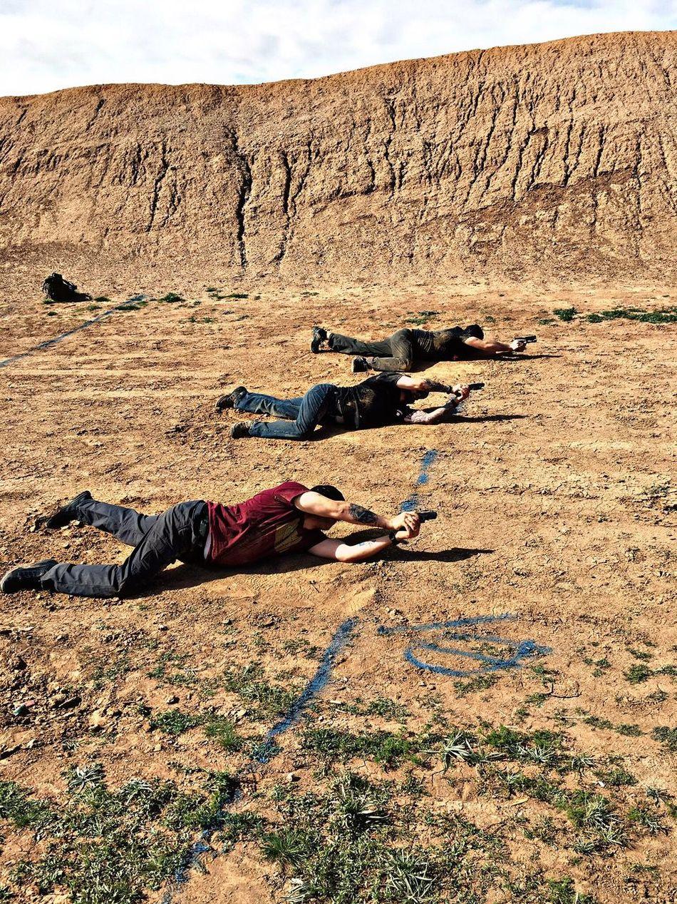 Thats Me! At Ben Avery Shooting Range