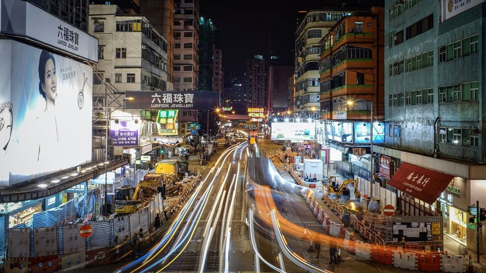 Mong Kok Night Discoverhongkong Nightshooters Sonyimages Oldlens Sumillux35mm1st EyeEm Gallery Long Exposure Lifestyles Landscapes Cityscapes Hello World Life In Motion Buildings Taking Photos From My Point Of View Shadows & Lights EyeEm Best Edits EyeEm Masterclass Walking Around Urban Exploration Capture The Moment Captured Moment Found On The Roll Landscape_Collection Cityscape The Architect - 2017 EyeEm Awards The Street Photographer - 2017 EyeEm Awards