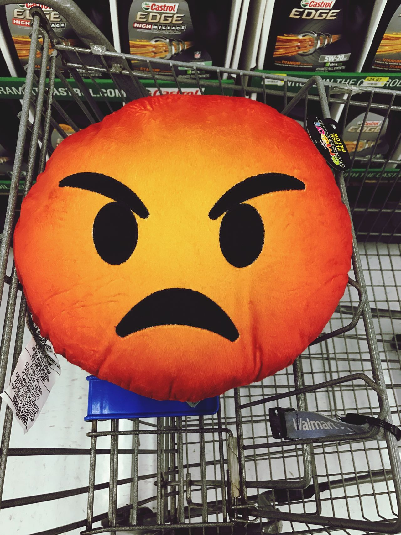Anthropomorphic Face Halloween No People Outdoors Close-up Emoji Walmart Plush